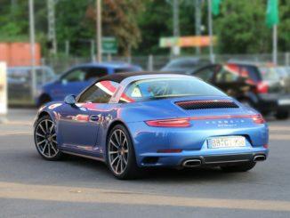 Porsche Sportwagen im Urlaub mieten