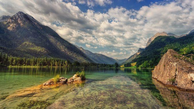 Berge und Strand in Deutschland
