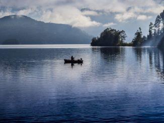 angelurlaub auf dem Boot